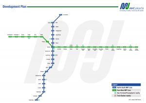 MRTjakarta_plan