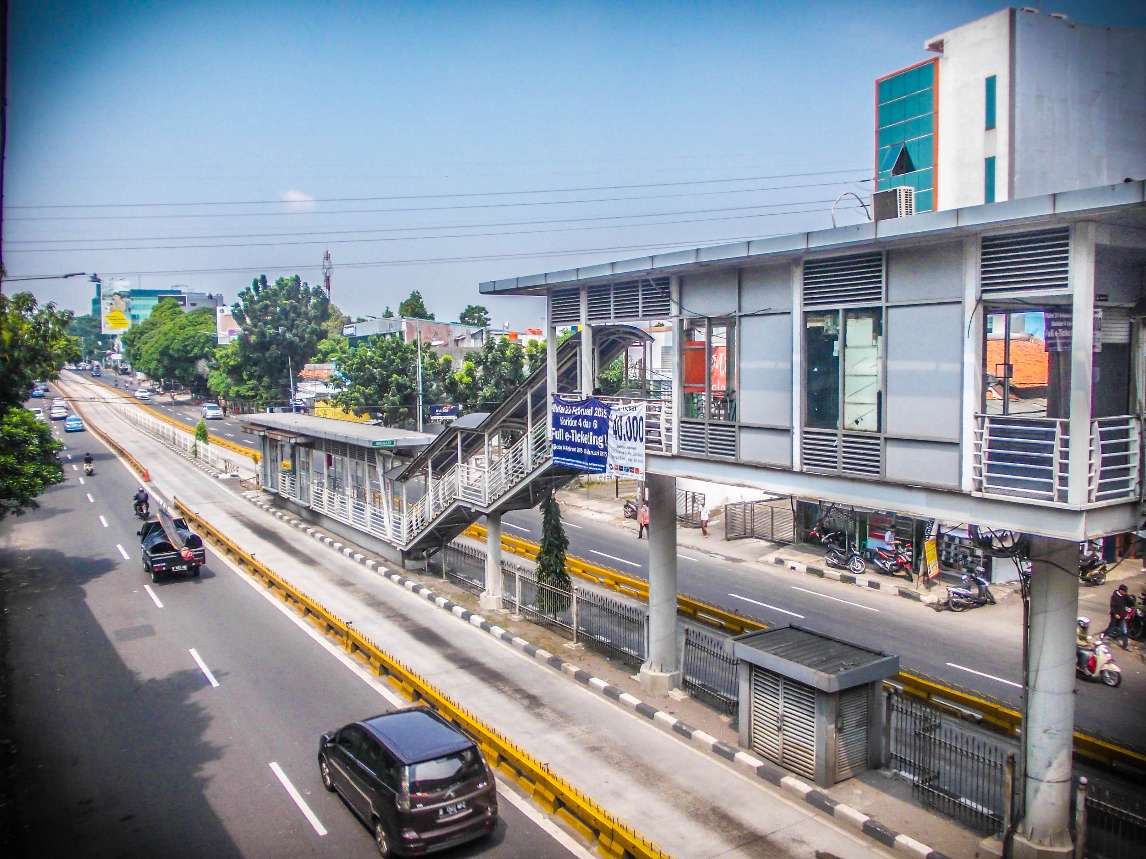 Ayo Naik Umum Landmark Landmark Halte Transjakarta Anandastoon