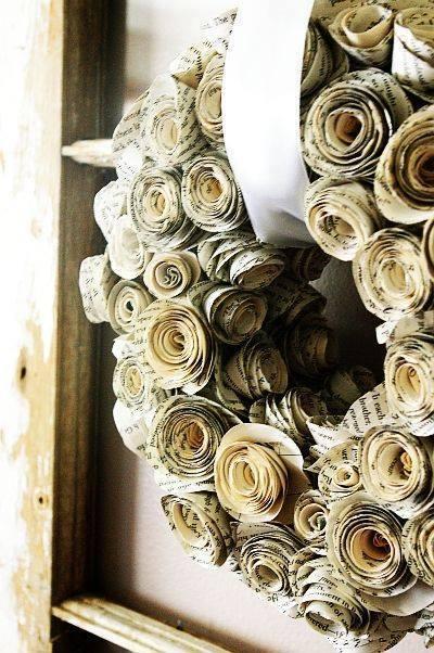 daur ulang koran bekas kreatif