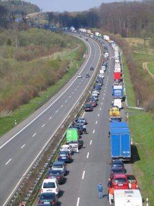 kemacetan di jerman