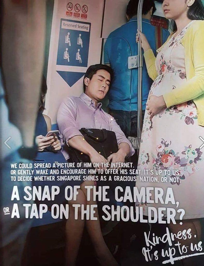 Iklan MRT Singapura