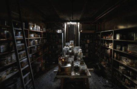 Foto Interior Terabaikan yang Menakjubkan