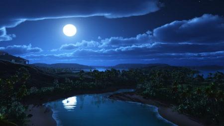 Bulan yang Bernyanyi
