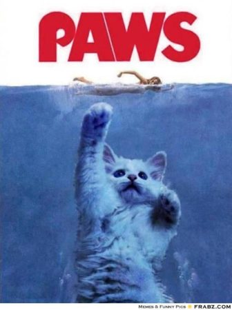 Poster Movie JAWS