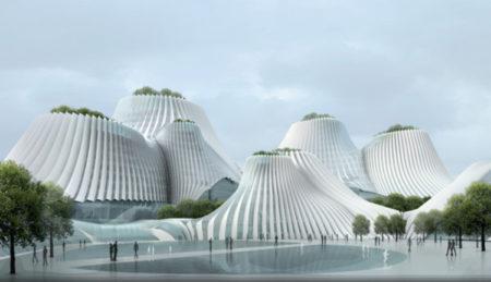 Bangunan Terinspirasi dari Gunung Berapi